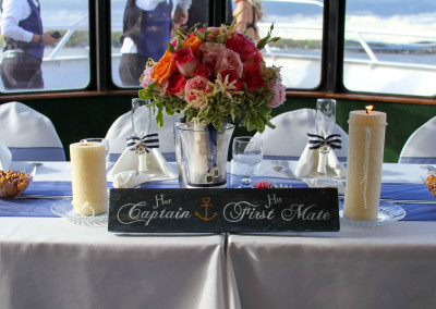 Bride _ Grooms Head table..