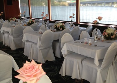 Table linens _ flower service..