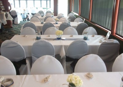 White lines _ chair covers