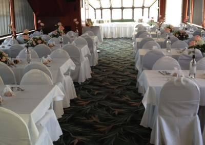 White lines with chair covers(2)