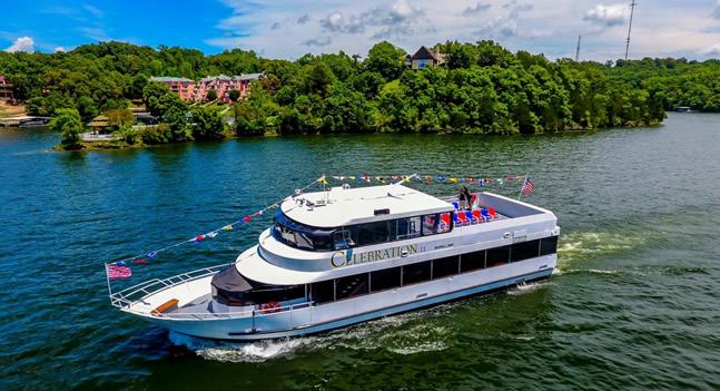 Lake of the Ozarks Cruises : Celebration Cruises